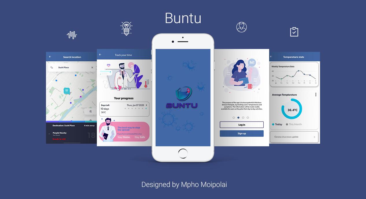 Buntu Temperature app